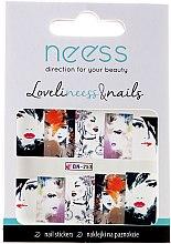 Parfums et Produits cosmétiques Autocollants pour ongles, 3686, BN-253 - Neess
