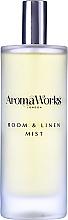 Parfums et Produits cosmétiques Spray d'ambiance, Rose et Bergamote - AromaWorks Harmony Room Mist