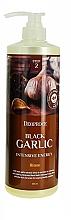 Parfums et Produits cosmétiques Masque à l'extrait d'ail noir pour cheveux - Deoproce Black Garlic Intensive Energy Hair Pack
