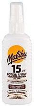 Parfums et Produits cosmétiques Spray lait solaire SPF15 pour le corps - Malibu Lotion Spray SPF15