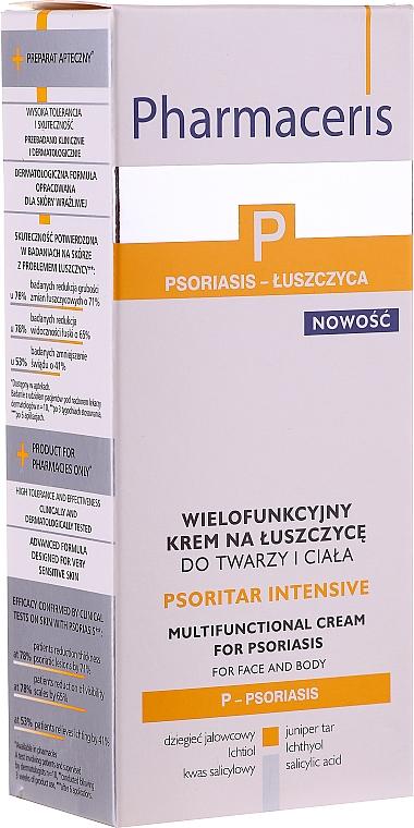 Crème anti-psoriasis pour visage et corps - Pharmaceris P Psoritar Inensive