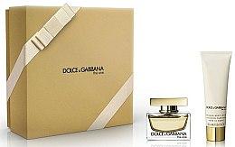Parfums et Produits cosmétiques Dolce & Gabbana The One - Coffret (eau de parfum/30ml + émulsion parfumée pour corps/50ml)