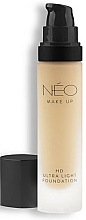 Parfums et Produits cosmétiques Fond de teint ultra-léger - NEO Make Up HD Ultra Light Foundation