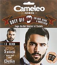 Parfums et Produits cosmétiques Coloration pour cheveux, barbe et moustache - Delia Cameleo Men