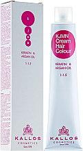 Parfums et Produits cosmétiques Crème colorante à la kératine et à l'huile d'argan - Kallos Cosmetics Cream Hair Colour