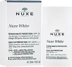 Parfums et Produits cosmétiques Soin de haute protection SPF 30 pour visage - Nuxe White Daily UV Protector SPF30 PA+++