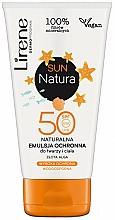 Parfums et Produits cosmétiques Émulsion solaire pour visage et corps - Lirene Sun Natura Sun Light Emulsion SPF 50+ Vege