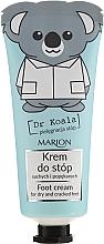 Parfums et Produits cosmétiques Crème pour les pieds - Marion Dr Koala Foot Cream