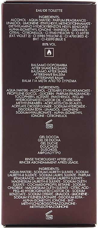 Dolce & Gabbana The One for Men - Coffret (eau de toilette/100ml + baume après-rasage/50ml + gel douche/50ml) — Photo N2