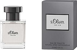 Parfums et Produits cosmétiques S.Oliver For Him - Eau de Toilette