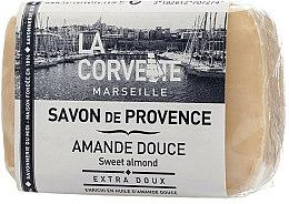 Parfums et Produits cosmétiques Savon de Provence extra doux à l'huile d'amande douce - La Corvette Provence Sweet Almond