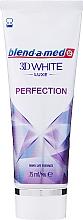 Parfums et Produits cosmétiques Dentifrice blanchissant - Blend-a-med 3D White Luxe Perfection