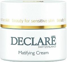 Parfums et Produits cosmétiques Crème matifiante pour visage - Declare Matifying Hydro Cream