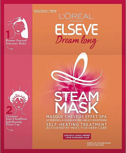 Masque autochauffant pour cheveux - L'Oreal Paris Elseve Dream Long Steam Mask — Photo N1