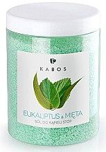 Parfums et Produits cosmétiques Sels de bain pour les pieds - Kabos Eucalyptus & Mint Foot Bath Salt