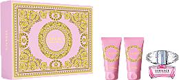 Parfums et Produits cosmétiques Versace Bright Crystal - Coffret (eau de toilette/50ml + lotion corporelle/50ml + gel douche/50ml)