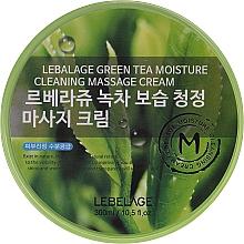 Parfums et Produits cosmétiques Crème de massage nettoyante au thé vert pour visage - Lebelage Green Tea Moisture Cleaning Massage Cream