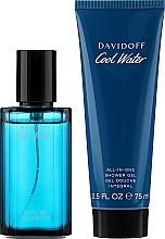 Parfums et Produits cosmétiques Davidoff Cool Water - Coffret (eau de toilette/40ml + gel douche/75ml)