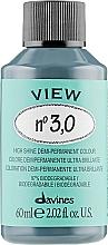 Parfums et Produits cosmétiques Coloration cheveux - Davines View