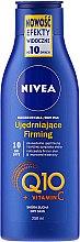 Parfums et Produits cosmétiques Lait corporel à la coenzyme Q10 et vitamine C - Nivea Q10 + Vitamin C Body Lotion