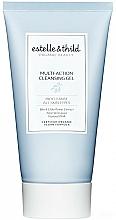 Parfums et Produits cosmétiques Gel nettoyant multi-actions à l'extrait de fleur de sureau noir pour visage - Estelle & Thild Biocleanse Multi-Action Cleansing Gel