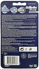 Lot de 8 rasoirs jetables - Gillette Blue3 Comfort Football — Photo N2