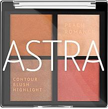 Parfums et Produits cosmétiques Palette de maquillage pour visage - Astra Make-up The Romance Palette