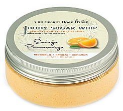 Parfums et Produits cosmétiques Mousse de douche au sucre, Orange - The Secret Soap Store Orange Body Sugar Whip