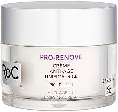 Parfums et Produits cosmétiques Crème à la vitamine C pour visage - RoC Pro-Renove Anti-Ageing Unifying Cream