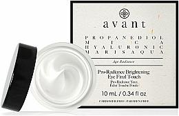 Parfums et Produits cosmétiques Crème à l'acide hyaluronique pour yeux - Avant Skincare Pro-Radiance Brightening Eye Final Touch