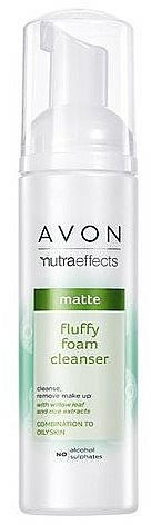 Mousse nettoyante pour visage - Avon Nutra Effects Matte Fluffy Foam Cleanser