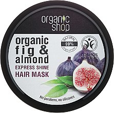 Parfums et Produits cosmétiques Masque à la figue et amande pour cheveux - Organic Shop Organic Fig Tree and Almond Hair Mask