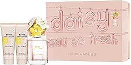Parfums et Produits cosmétiques Marc Jacobs Daisy Eau So Fresh - Coffret (eau de toilette/75ml + lotion corporelle/75ml + gel douche/75ml)