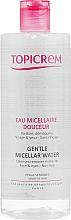 Parfums et Produits cosmétiques Eau micellaire pour visage et yeux - Topicrem Gentle Micellar Water Face & Eyes