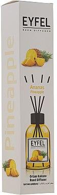 Bâtonnets parfumés Ananas - Eyfel Perfume Reed Diffuser Ananas