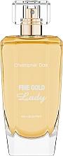 Parfums et Produits cosmétiques Christopher Dark Fine Gold Lady - Eau de Parfum
