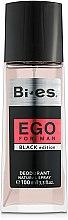 Parfums et Produits cosmétiques Bi-Es Ego Black Edition - Déodorant spray parfumé
