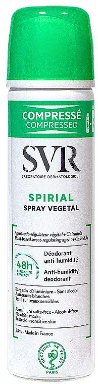 Déodorant - SVR Spirial Vegetal Anti-Humidity Deodorant