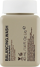 Parfums et Produits cosmétiques Shampooing lissant à l'extrait de feuille de sauge (mini) - Kevin.Murphy Balancing.Wash