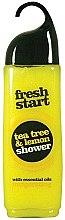 Parfums et Produits cosmétiques Gel douche aux huiles essentielles, citron et arbre à thé - Xpel Marketing Ltd Fresh Start Shower Gel Tea Tree & Lemon