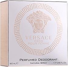 Parfums et Produits cosmétiques Versace Eros Pour Femme - Déodorant spray