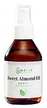 Parfums et Produits cosmétiques Huile d'amande douce à l'arôme de thé vert - Natur Planet Sweet Almond Oil Aroma Green Tea
