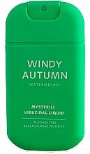 Parfums et Produits cosmétiques Spray désinfectant pour mains Pastèque - HiSkin Antibac Hand Spray Windy Autumn