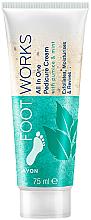 Parfums et Produits cosmétiques Crème exfoliante à la menthe pour pieds - Avon Footworks