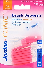 Parfums et Produits cosmétiques Lot de 10 brossettes interdentaires 0,4 mm XS - Jordan Interdental Brush