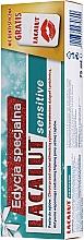 Parfums et Produits cosmétiques Lacalut Sensitive Special Edition Set - Set (dentifrice/75ml + fil dentaire)