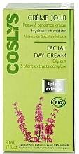 Crème à l'eau de reine-des-prés et huile de jojoba pour visage - Coslys Day Cream Oily Skin Types — Photo N2