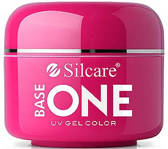 Gel pour ongles - Silcare Base One Red Gel Color