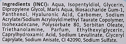 Gel de soin à l'acide hyaluronique pour visage, cou et décolleté, Eau marin - FlosLek ZeLove Moisturizing Marine Water Bomb 2in1 — Photo N3
