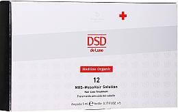 Parfums et Produits cosmétiques Traitement de mésothérapie - Simone DSD De Luxe Medline Organic 12 MHS – Mesohair Solution Hair Loss Treatment